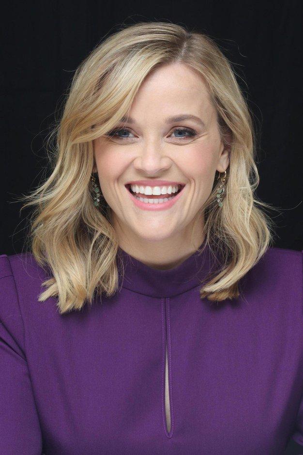 Uau! Reese Witherspoon nas je očarala v čudoviti rdeči obleki! - Foto: Profimedia