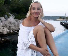 Tanja Ribič je po 21 letih spet oblekla to nepričakovano obleko