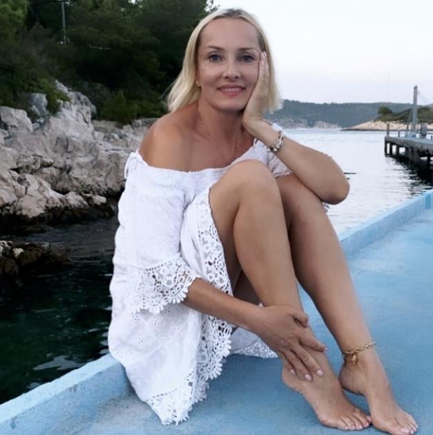 Tanja Ribič navdušila v kopalkah in beli majici - Foto: Instagram/ @tanja__ribic