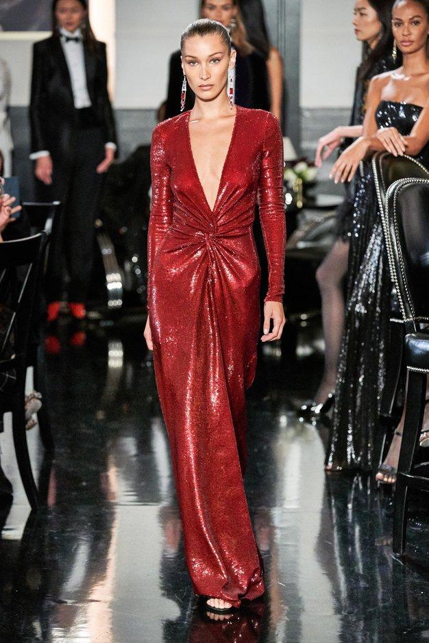 To so najlepše kreacije z modne revije Ralph Lauren