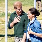 To je najbolj prisrčen poljub Meghan in Harryja, kar smo jih videli do sedaj