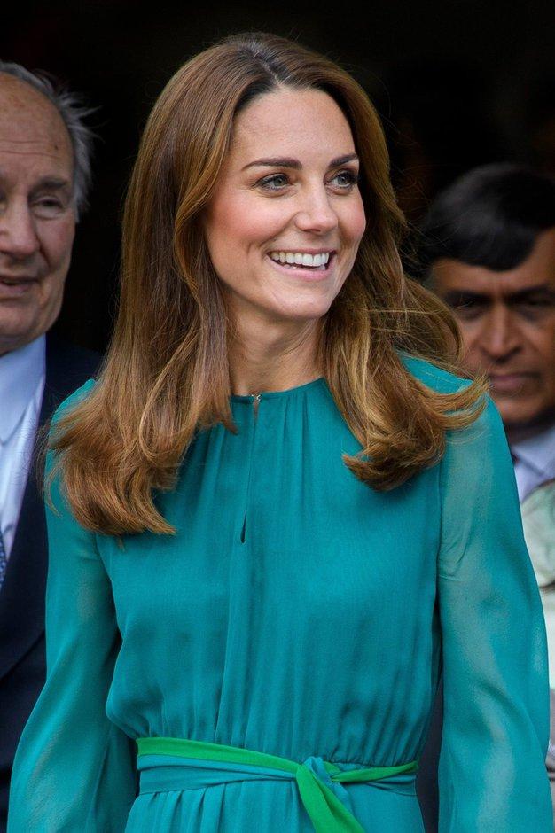 Poglejte prelepo obleko, ki jo je pravkar nosila Kate Middleton - Foto: Profimedia