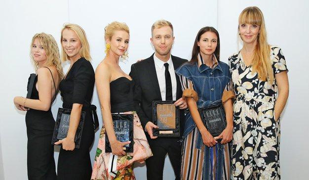 Nagrajenci z urednico mode Petro Windschnurer