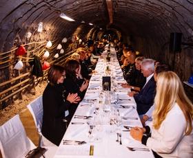 »Premium« dogodek v najgloblji jedilnici v Evropi