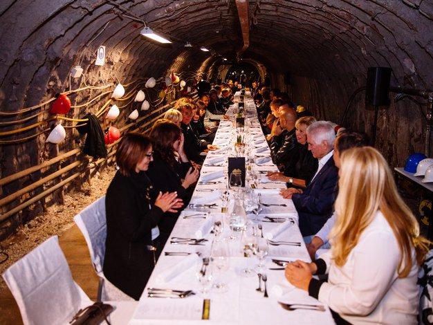 »Premium« dogodek v najgloblji jedilnici v Evropi - Foto: Mediaspeed