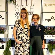 Petra Windshnurer in Radica Atanasova, predstavnica generalnega pokrovitelja dogodka podjetja Ineor (foto: Profimedia)