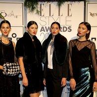 Svečana obleke comma, na prelesnih manekenkah (foto: Saša Aleksandra Prelesnik)