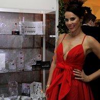 Ljubiteljica lepega in ambasadorka steklarne Rogaška, Lorella Flego (foto: Saša Aleksandra Prelesnik)