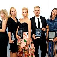 Nagrajenci ELLE Style Awards 2019: Alja Horvat, Stella Korošec, Iva Krajnc Bagola, Mike Vale, Petja Zorec (foto: Profimedia)
