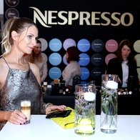 Vedno dobra družba - kava Nespresso (foto: Helena Kermelj)
