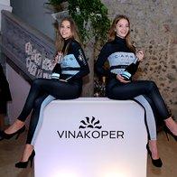 Dobrodošlica s penino Capris iz VinaKoper (foto: Helena Kermelj)