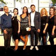 Iztok Nikolić, Ivana Potočnik, Tanja Mudrinić, Ermin Kahrimanovič, Tina Zaletel in Andreja Vesel, Steklarna Rogaška (foto: Helena Kermelj)