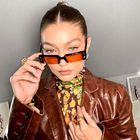 Gigi Hadid nam je pokazala, kako uskladiti svoja ličila z jesensko garderobo