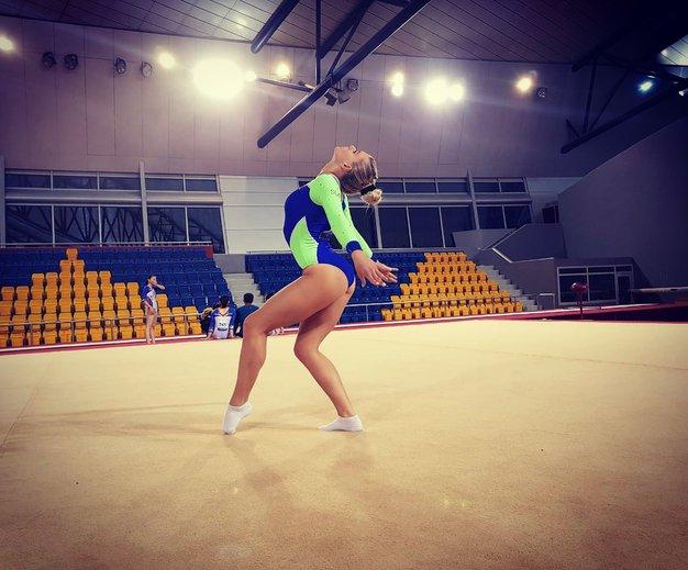 »Mislim, da je gimnastika v Sloveniji premalo cenjena, glede na to, kako težka je« - Foto: osebni arhiv