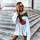 Nina Šušnjara nam je pokazala, kako nositi moške hlače