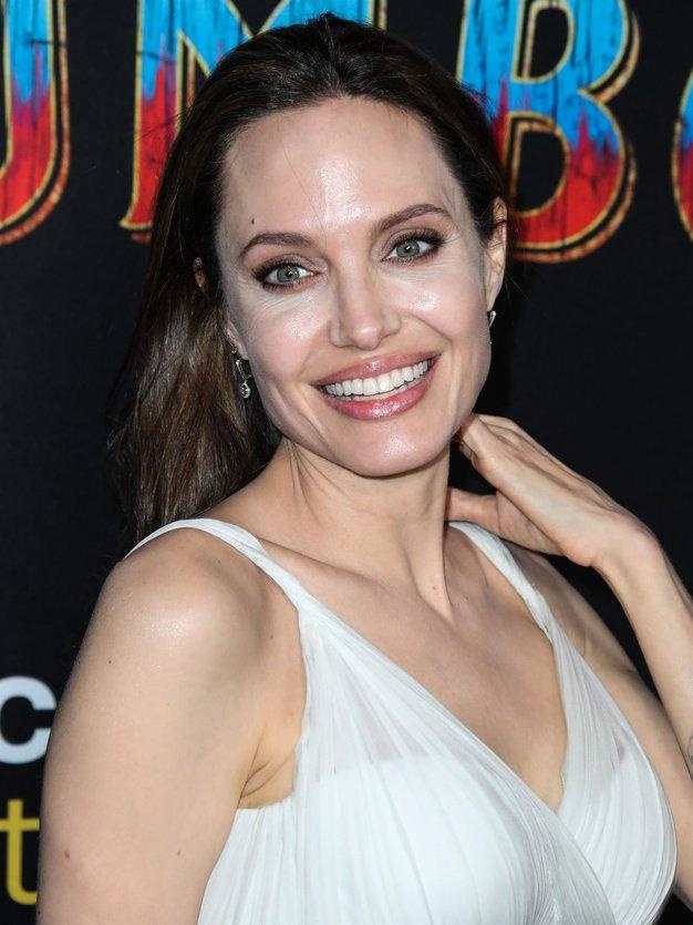 Angelina Jolie je nosila popolno obleko za sproščene dni - Foto: Profimedia