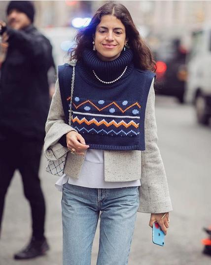 Navdih za plastenje modnih kosov, da vam bo pozimi vedno toplo - Foto: Instagram