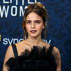 Uau! Emma Watson je blestela v prelepi črni obleki