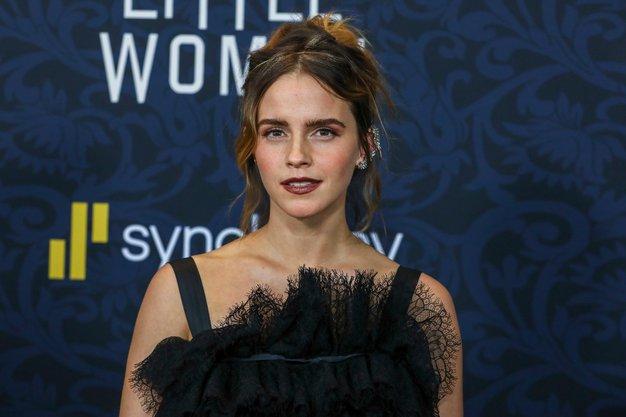 Uau! Emma Watson je blestela v prelepi črni obleki - Foto: Profimedia