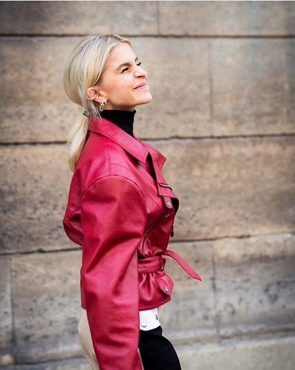 Najboljše usnjene jakne, ki jih bomo nosili to pomlad - Foto: Instagram