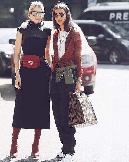 Torbice s pasom bomo letos nosili tako (+ načini nošenja) - Foto: Instagram