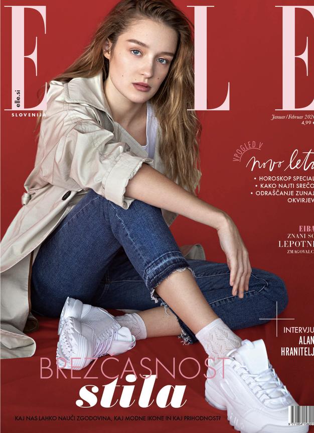 Tukaj je nova ELLE! Poglejte, kaj vam tokrat sporoča modna urednica - Foto: ELLE