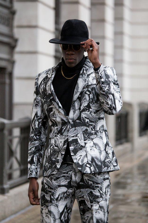 Ekskluzivno: Slovenska fotografinja je ujela najbolj drzne stajlinge z ulic modnega tedna v Londonu