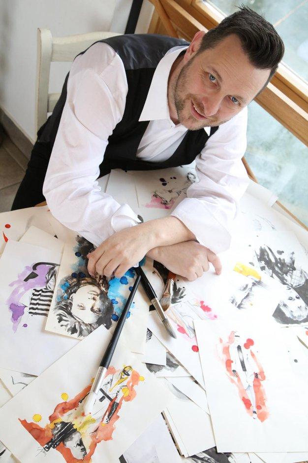 Mitja Bokun, slovenski ilustrator, o svoji nenavadni poti do uspeha - Foto: Aleksandra Saša Prelesnik