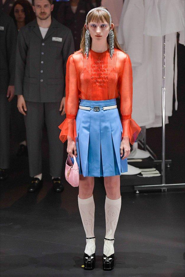 Poglejte, zakaj o modni reviji Gucci govorijo vsi