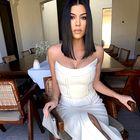 Kourtney Kardashian je nosila popolno mini obleko