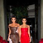 Poglejte drzna stajlinga, ki sta ju Kim in Kourtney nosili na pariških ulicah