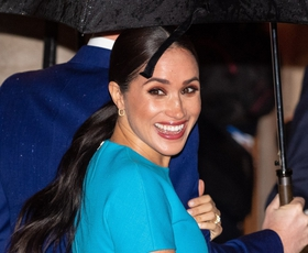 Meghan Markle in princ Harry prvič po Megxitu spet v javnosti