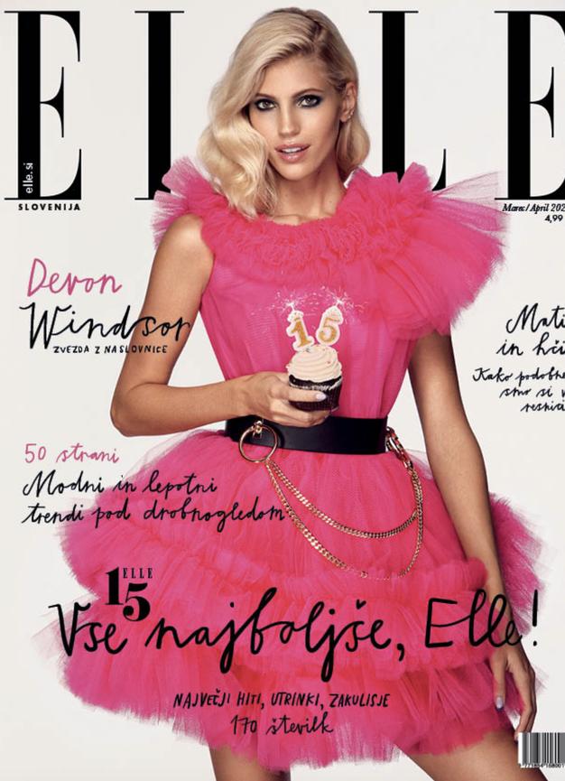 Tukaj je nova rojstnodnevna številka Elle! Ekipa tokrat o svojem prvem srečanju z revijo - Foto: Elle