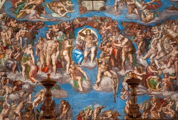 Ste si vedno želeli obiskati Rim? Virtualno si oglejte notranjost Sikstinske kapele - Foto: Profimedia