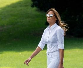 Poglejte, kdo v resnici plačuje luksuzna dizajnerska oblačila Melanie Trump