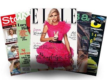 Naročite se na revijo ELLE in prejmite še 4 druge revije - za samo 10 eur letno! - Foto: Adria Media Ljubljana
