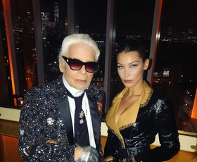 25 najbolj ikoničnih muz Karla Lagerfelda