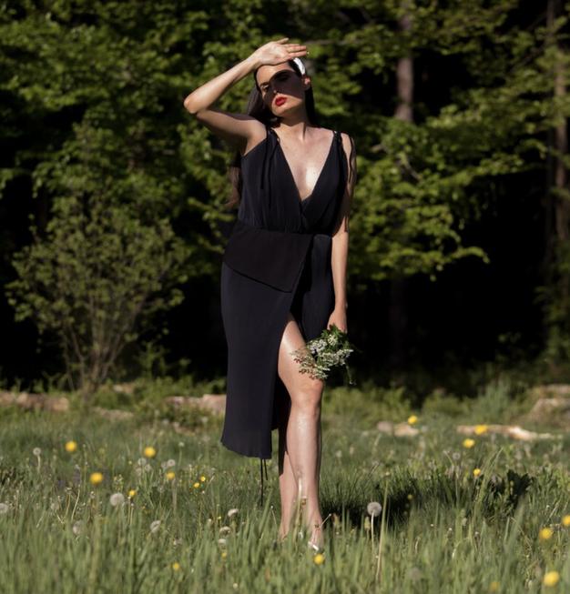Kako je nastala prva virtualna modna revija v Sloveniji? (pogovor z Janjo Videc) - Foto: Nike Koležnik