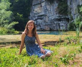 Števerjanka, ki Italijane uči o našem jeziku, lepotah in navadah