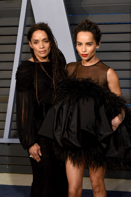 Lisa Bonet in Zoë Kravitz