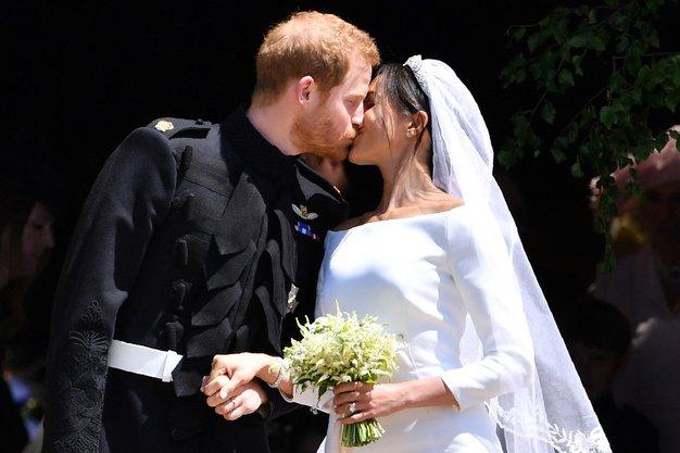 12 stvari s poroke Meghan in Harryja, ki ste jih zagotovo spregledali - Foto: Profimedia