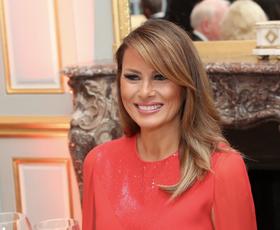 Melania Trump je pravkar osupnila z najlepšim outfitom do sedaj
