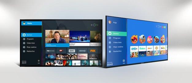 EON vam od sedaj priporoča vaše najljubše televizijske vsebine - Foto: promocijski material