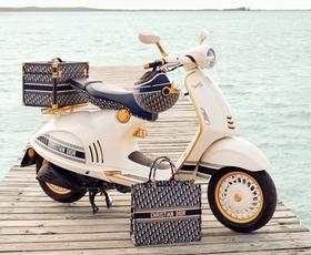 Dior in Vespa predstavljata nov skuter