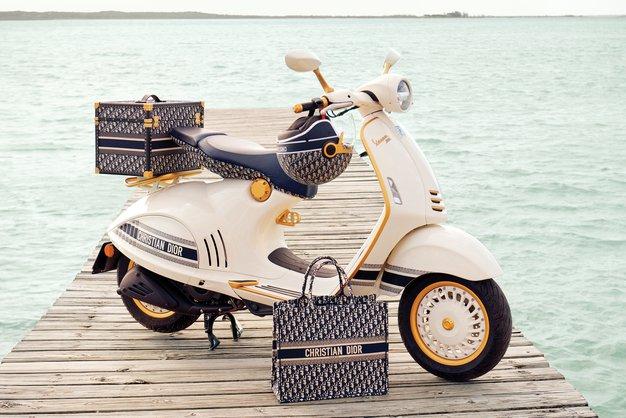Dior in Vespa predstavljata nov skuter - Foto: Dior