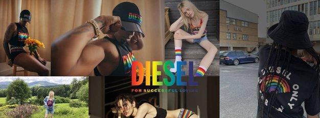 Diesel predstavlja prvo PRIDE kolekcijo in kratki film Francesca - Foto: Diesel