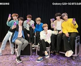 I Purple You: Posebna BTS izdaja Samsung Galaxy S20+ pametnih telefonov in Galaxy Buds+ brezžičnih slušalk