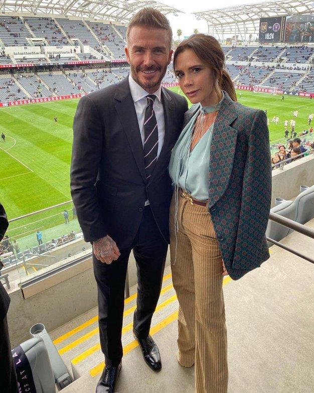 Ob 21. obletnici poroke je David Beckham razkril, kdaj je prvič opazil Victorio - Foto: Profimedia