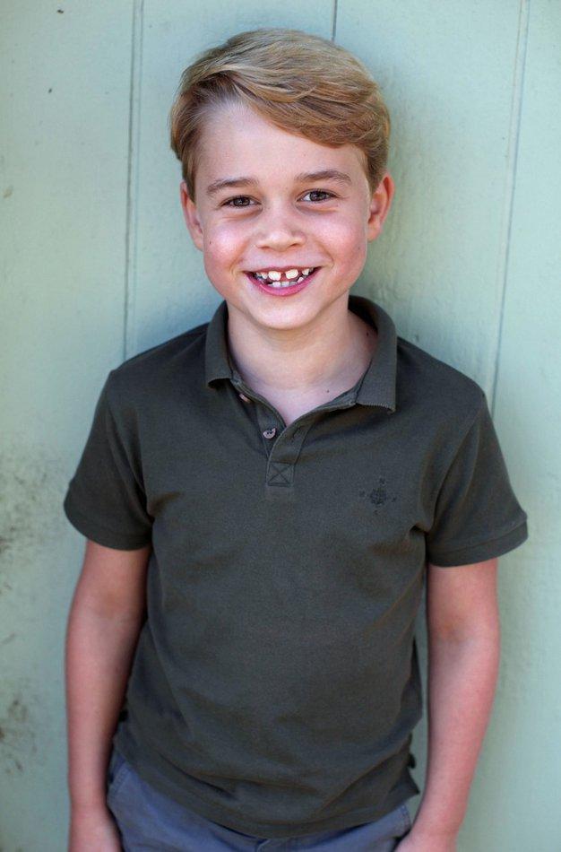 Oglejte si prisrčne fotografije princa Georga na njegov 7. rojstni dan - Foto: Profimedia