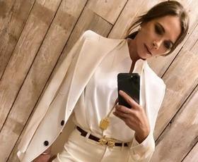 Victoria Beckham nas je očarala v tej obleki